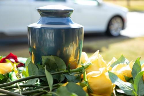 Serviço funerário crematorio